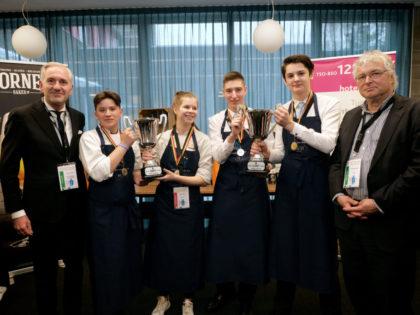 Yorde, leerling hotelschool, wint nationale wedstrijd AEHT Cornet Trophy!